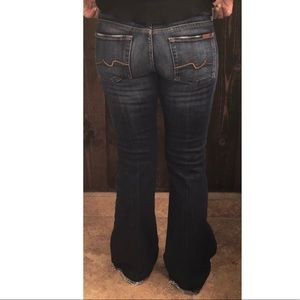 🆕 7 For All Mankind | Classic Flare Jean Sz 27